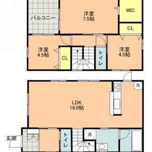 福岡市東区和白のペット飼育可能な戸建3SLDK♪
